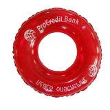 De hete Verkopende Zwemmende Ring van de Ring van het Leven van pvc van de Gift van de Reclame van de Bevordering van de manier Promotie Opblaasbare