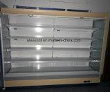 Apresentação vertical de alta qualidade supermercado frigorífico e congelador