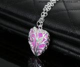 Pendentif lumineux Peach COEURS Collier pendentif cristal de diamant