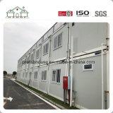 Huis van de Container van het Frame van de Structuur van het Staal van lage Kosten het Mobiele Lichte Prefab Modulaire voor Slaapzaal/Bureau