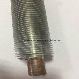 Tubo de aleta cubierto con bronce aluminio de la alta calidad para el cambiador de calor