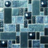 陶磁器エクスポートの品質の床および壁のタイルのクリスタルグラスのモザイク