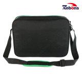 Полиэстер портативный компьютер наплечная сумка для мужчин с регулируемым ремешком