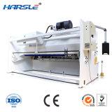 Luz giratória hidráulica CNC placa de corte da máquina de Cisalhamento