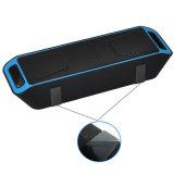 Beweglicher beweglicher drahtloser im FreienSoundbar Lautsprechereingebauter Mic-Doppellautsprecher-Bass-Ton