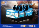 Los más calientes de la máquina de Realidad Virtual 9D Cine Vr Alibaba 6 Jugadores Vr nave espacial