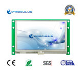 '' TFT LCD 4.3 avec l'intense luminosité de lentes capacitives du contact Screen+500