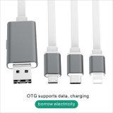 Câble de téléphone mobile de disque d'OTG U pour l'iPhone, Samsung
