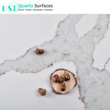 Толщина 6 мм Calacatta Statuario полупрозрачные кварцевого камня для монтажа на стену