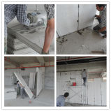 Painel de parede concreto do sanduíche do cimento do EPS do material de construção de pouco peso para casas de campo/casa pequena