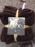 極度の柔らかくシャギーで柔らかいSherpaのフロスティングのMicrofiberの投球毛布