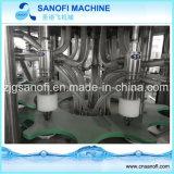 Agua de botella de 5 galones que aclara la máquina que capsula de relleno