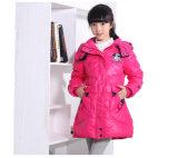 Новая конструкции зимы куртка вниз для девушки