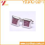 Mancuerna de plata de encargo de la manera para el regalo promocional (YB-cUL-03)