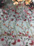 Горячая фабрика шнурка тканья ткани шнурка Embroidry оптовой продажи сбывания