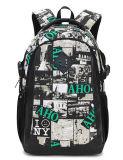 Sac en toile Hommes Femmes sac à dos de loisirs d'impression d'étudiants Pack des Sports de la porte de sac à dos
