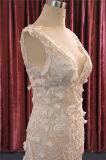 Sexy Lace Sequin Mermaid vestido de noiva Suite Bata