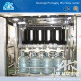 Una buena calidad 5 galón 20 litros de agua de lavado de la línea de llenado de botellas Máquina Tapadora de llenado