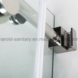 Reversible Roller Sliding Shower Screen