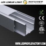 L di alluminio Manica, alloggiamento di alluminio del LED, Manica di alluminio nera