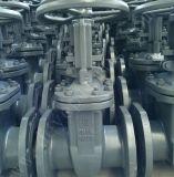 A Rússia GOST Standard Válvula gaveta de aço com Flange Superior
