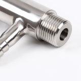 Grau alimentício roscados hexagonais sanitárias de Aço Inoxidável Válvula de amostra