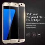 3D Curved Full Clear Transparency S7 Edge Tempered Knell for Samsung Galaxy S7 Edge Screen Protector