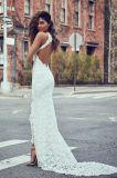 شريط زفافيّ [إفنينغ غون] رسن غلاف [بكلسّ] عرس ثوب [لب18542]