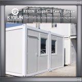 Camera personalizzata dell'installazione del contenitore del pavimento dell'acciaio 2 dell'indicatore luminoso della struttura d'acciaio velocemente per la villa