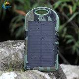 Chargeur solaire portatif réel RoHS de la capacité 5000mAh