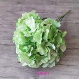 Venda por atacado de seda da fábrica da flor artificial do Hydrangea de 5 varas