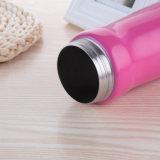 24oz 32oz Edelstahl Isolierwasser-Flaschen-breiter Mund-doppel-wandiger Entwurf mit der Stroh-Kippen-Schutzkappe groß für Kinder