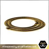 catena Herringbone Mjcn006 di Hip Hop dell'oro del Mens 14K di 10mm