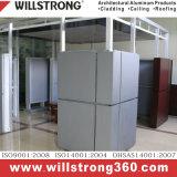 Revêtement composé de mur de panneau d'Étain-Zinc de Willstrong de panneau de zinc
