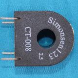 ミニチュア円環形状の単一フェーズの変流器