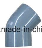 Material do PVC cotovelo de 45 graus para a fonte de água