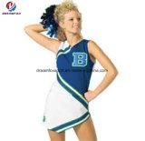 Износ платья Джерси дешевой пригодности нестандартной конструкции безрукавный Cheerleading для малышей