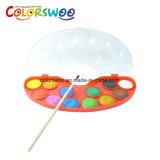 De kunst levert de Cake van de Kleur van het Water van 8*3.0cm, Aquarelle, W0830z