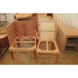 Sofá individual de madera al por mayor para la habitación de hotel o vestíbulo utilizada (ST0030)