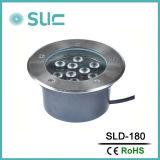 형식 9W 220V는 주조 알루미늄 LED 지하 점화를 정지한다