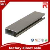 Profil en bois des graines extrusion en aluminium/en aluminium pour le guichet de construction