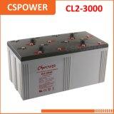 De lange Batterij SLA van de Levensduur 2V3000ah voor Systeem Cl2-3000 van UPS