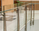 Railing безопасности корридора супермаркета/балюстрада Tempered стекла для коммерчески здания