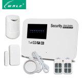 Multi-Lenguajes sin hilos de los soportes de sistema de alarma del G/M de la seguridad inteligente