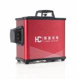 12 líneas nivel rotatorio del laser de la viga roja para examinar