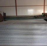 На заводе горячего ближний свет оцинкованной сварной проволочной сетки панели
