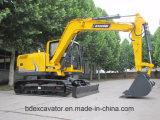 Qualidade das máquinas escavadoras Bd80 da esteira rolante a melhor (7.5T/0.4m3)