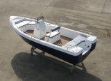 Barco de motor da fibra de vidro de China Aqualand 18feet 5.5m/barco pesca dos esportes/barco do Panga (180)