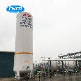 Réservoir de stockage cryogénique isolé par vide de GNL d'argon d'azote d'oxygène liquide