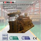 세륨 ISO에 의하여 승인된 제조자는 500kw Biogas 발전기를 공급한다